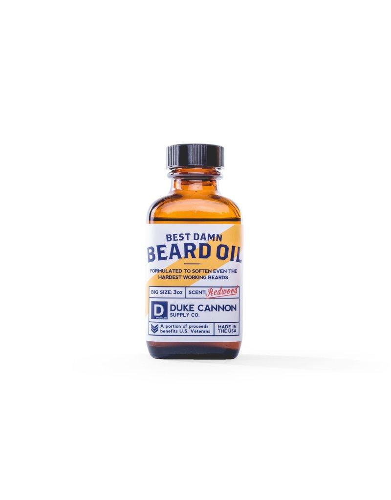Duke Cannon Supply Best Damn Beard Oil
