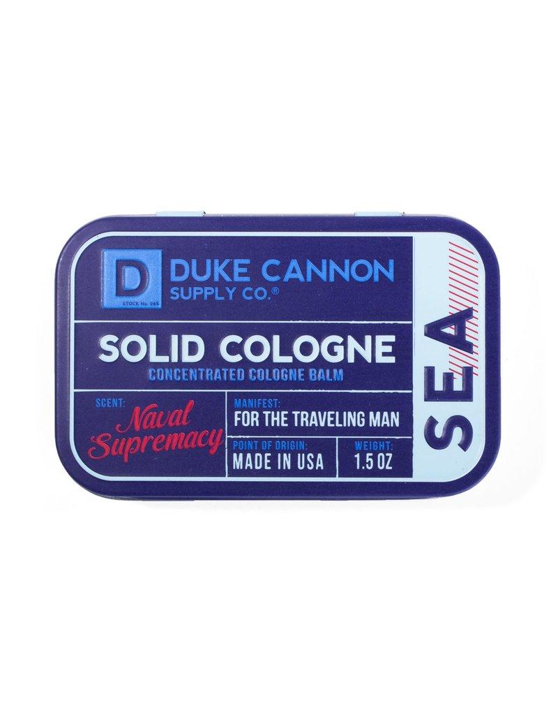 Duke Cannon Supply Solid Cologne - Sea