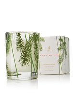The Thymes Frasier Fir Votive Candle, Pine Needle Design