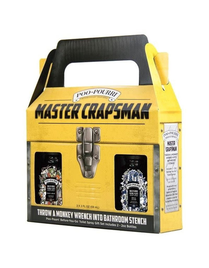 Poopourri Master Crapsman Gift Set