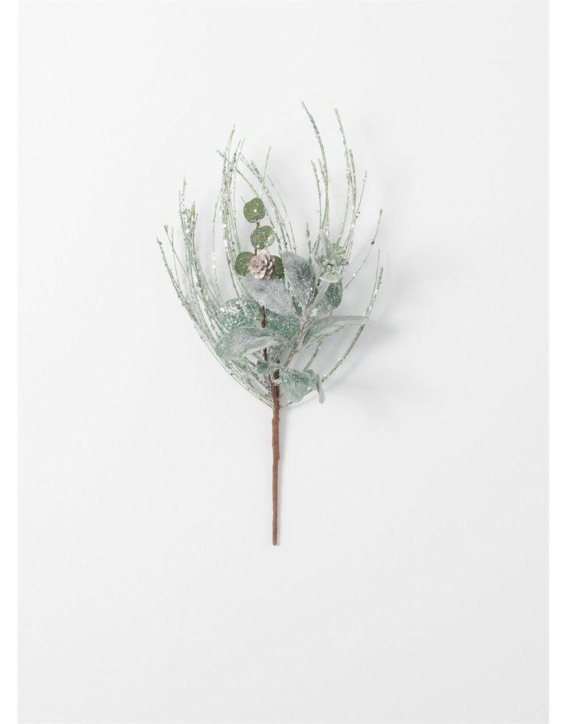 Icy Pine Lamb's Ear & Eucalyptus Pick