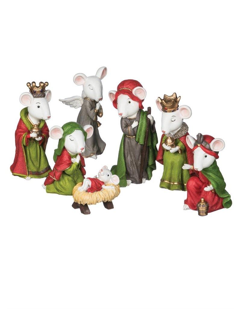 Mouse Nativity (Set of 7)
