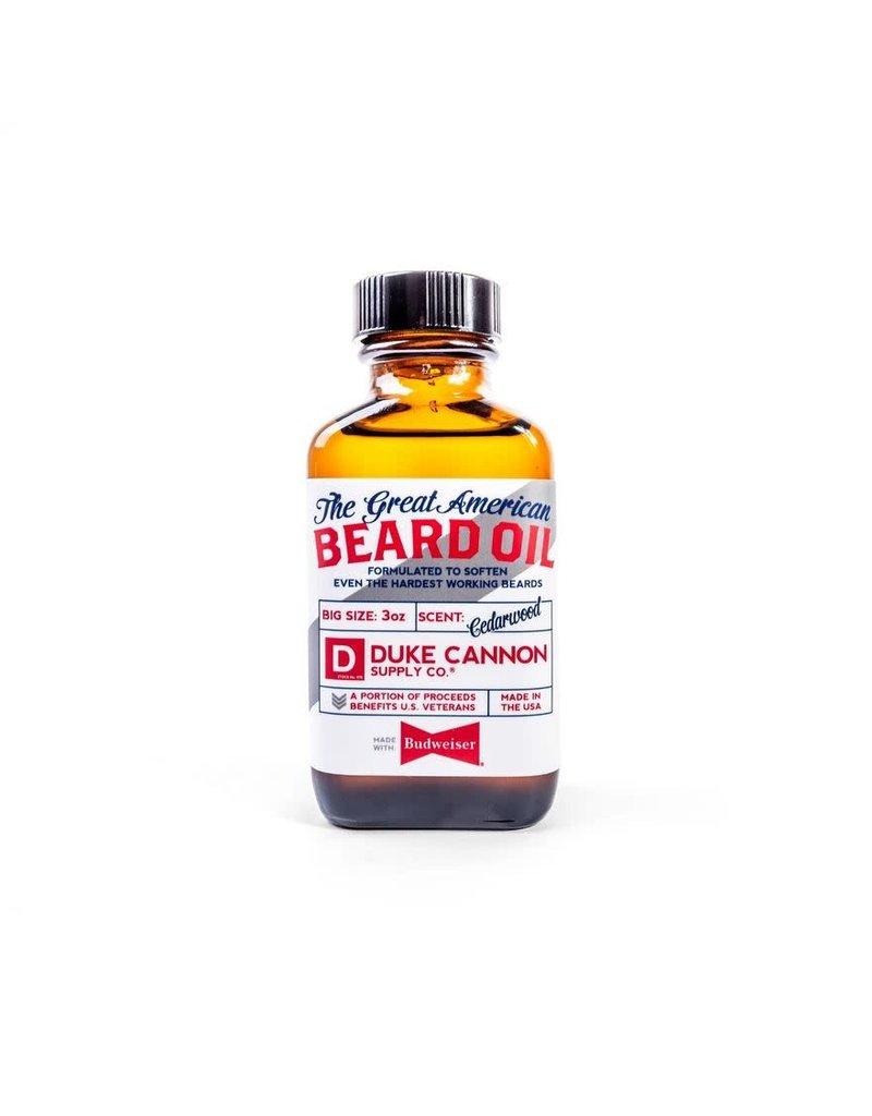 Duke Cannon Supply Great American Budweiser Beard Oil