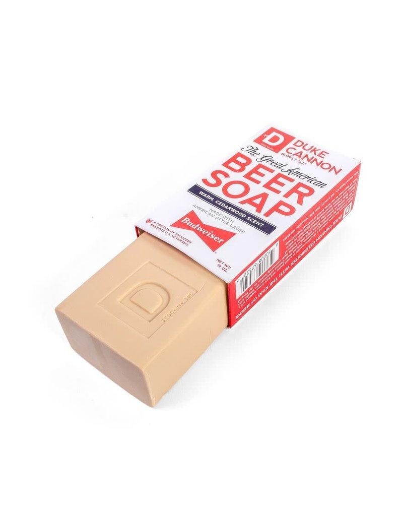 Duke Cannon Supply Great American Budweiser Soap