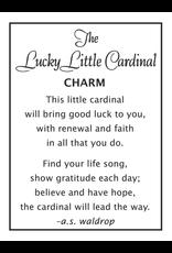 Lucky Little Cardinal Token