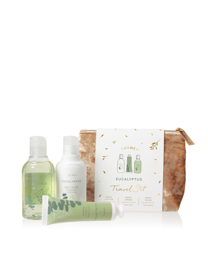 The Thymes Eucalyptus Travel Set w/ Beauty Bag