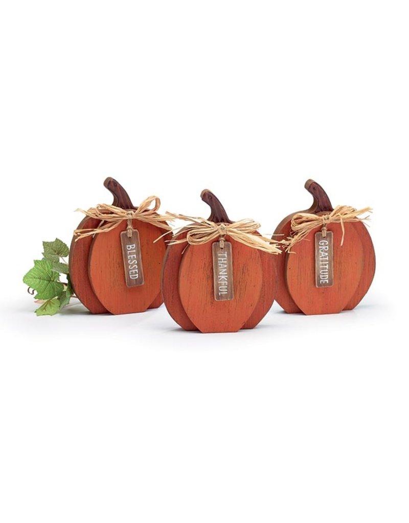 Burton & Burton Small Orange Pumpkin Shelfsitter
