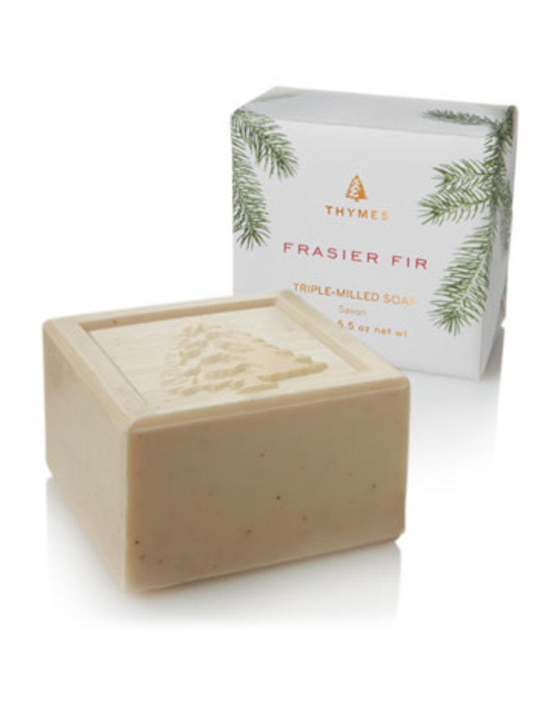 The Thymes Frasier Fir Bar Soap