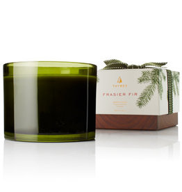 The Thymes Frasier Fir Poured Candle, 3-Wick