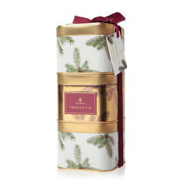 The Thymes Frasier Fir Stacking Present Tins