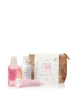 The Thymes Kimono Rose Travel Set w/ Beauty Bag