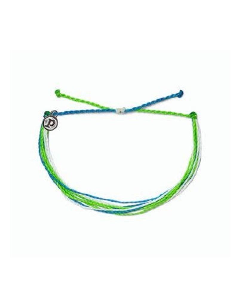 Pura Vida Bright Original Bracelet, Electric Waves