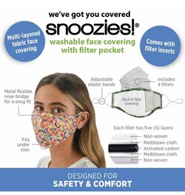 Snoozies Face Mask With Filter (More Colors Available)