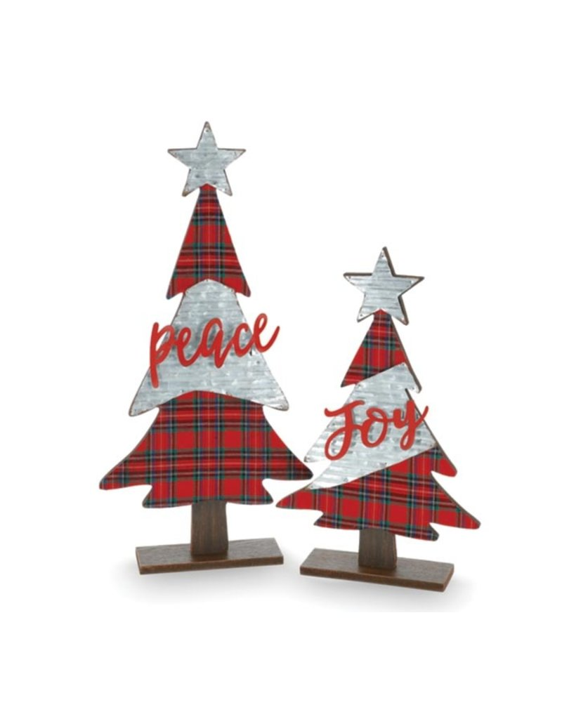 Burton & Burton Tartan Message Christmas Tree