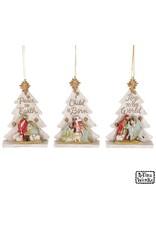 Burton & Burton Nativity Tree Ornament With Message