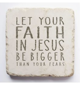 Twelve Stone Art Faith Scripture Stone