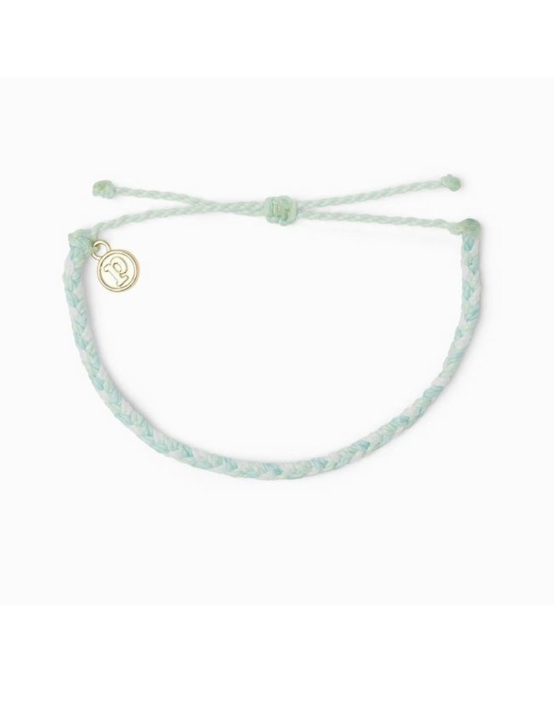 Pura Vida Mini Braided Solid Bracelet