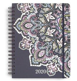 Vera Bradley 2020-2021 Vera Bradley 17 Month Jumbo Planner, Bonbon Medallion
