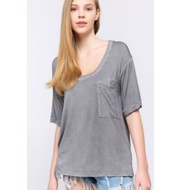 Relaxed Fit Pocket Tee