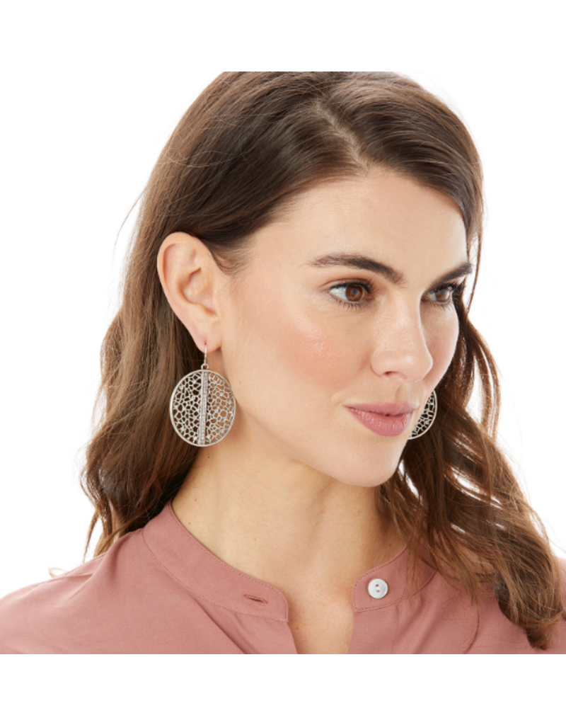 Brighton Fiji Sparkle French Wire Earrings, Silver