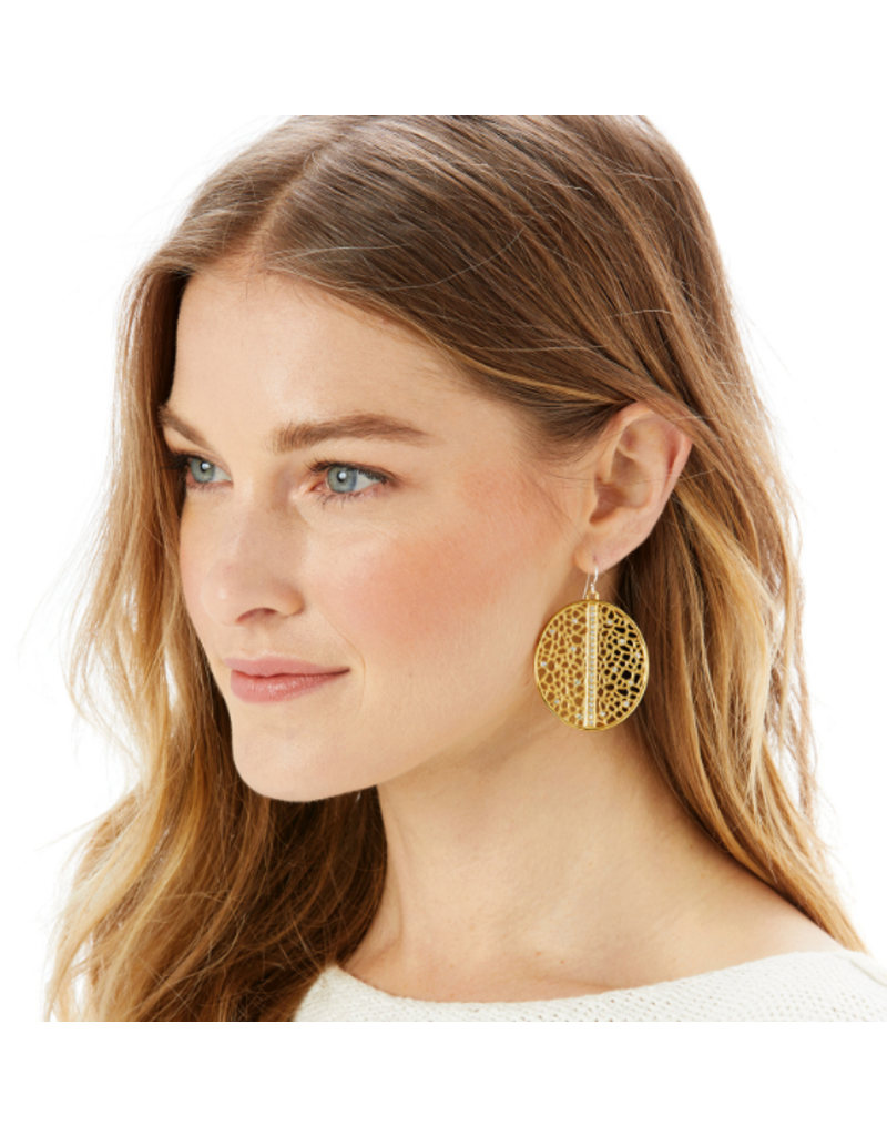 Brighton Fiji Sparkle French Wire Earrings, Gold