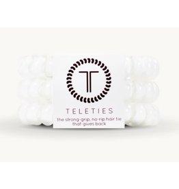 Teleties Large Teleties Coconut White