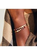 Luca & Danni Crystal Pearl Bracelet Fall Ombre