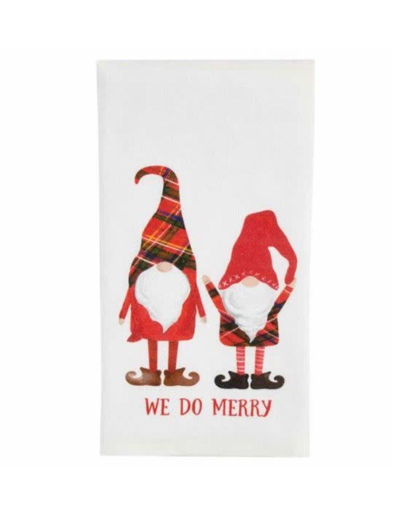 Mud Pie We Do Printed Gnome Tea Towel