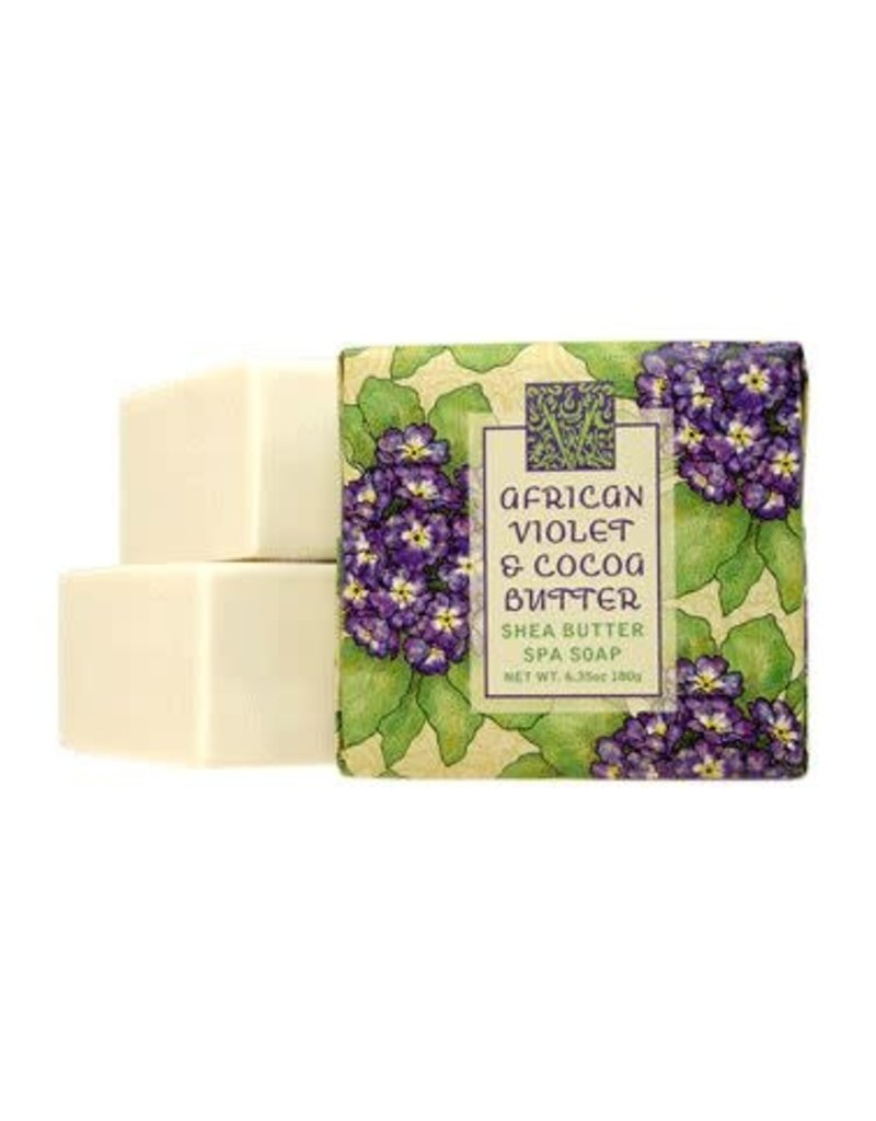 Greenwich Bay Trading African Violet 1.9oz Mini Soap