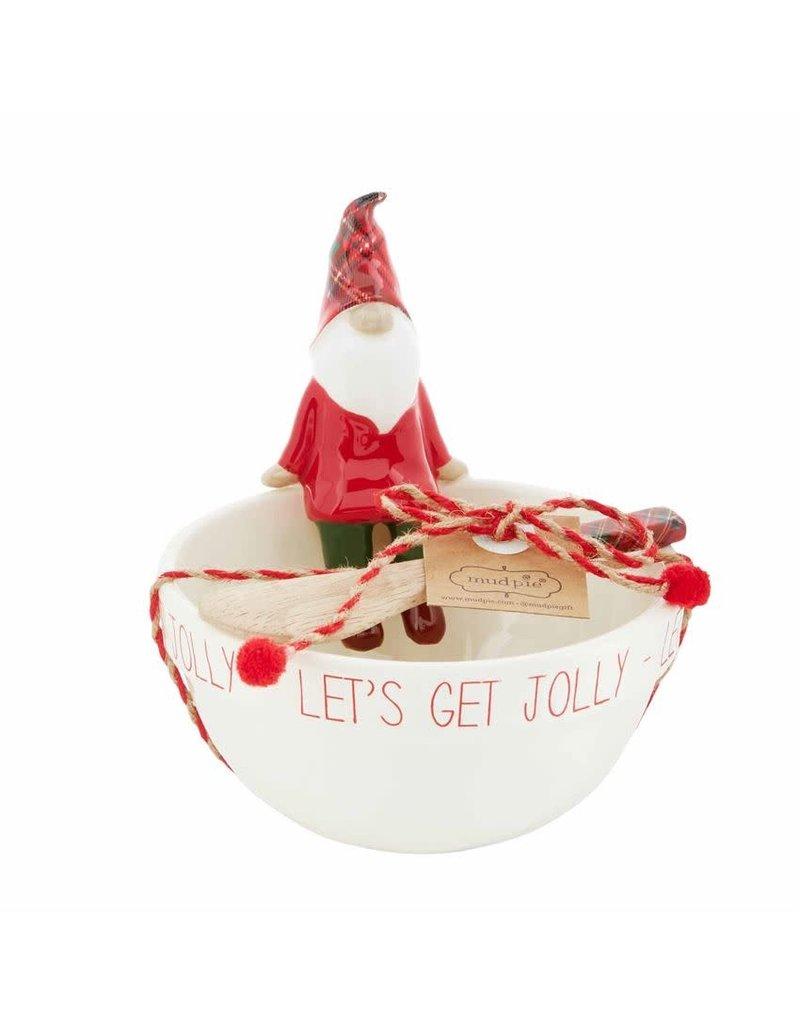 Mud Pie Jolly Gnome Dip Cup Set