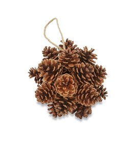 Mud Pie Preserved Pinecone Ball Ornament