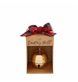 Mud Pie Gold Santa's Bell