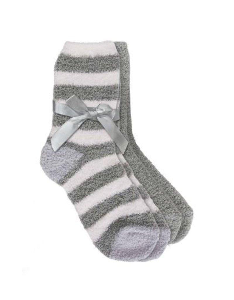 Soft Socks w/ Shea Butter & Lavender, Set of 2