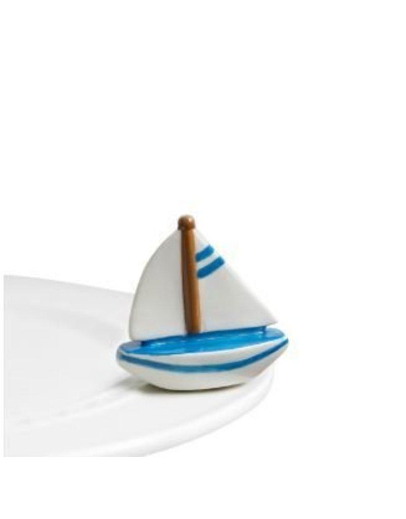 Nora Fleming, LLC Sail Me Away (Sailboat) Mini