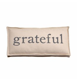 Mud Pie Grateful Pillow