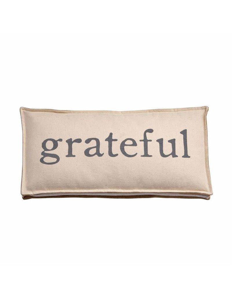 Mud Pie Grateful Pillow