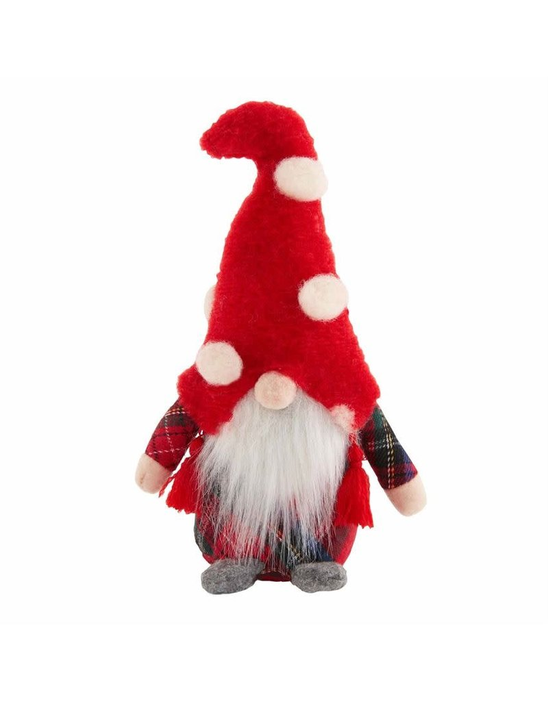 Mud Pie Small Christmas Gnome Sitter