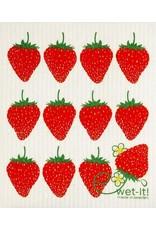 Wet-It Swedish Treasures Wet-It Cloth Strawberry