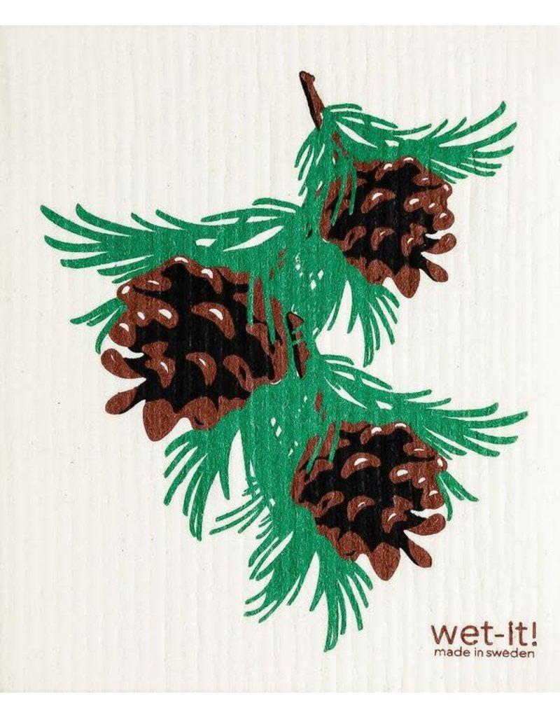 Wet-It Swedish Treasures Wet-It Cloth Pinecones