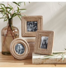 Mud Pie Small Reclaimed Beaded Frame Rectangle