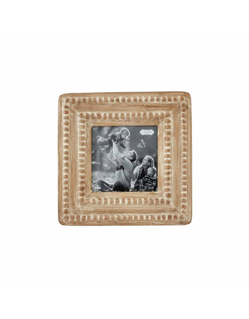 Mud Pie Small Reclaimed Beaded Frame