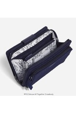 Vera Bradley RFID Deluxe All Together Crossbody, Classic Navy