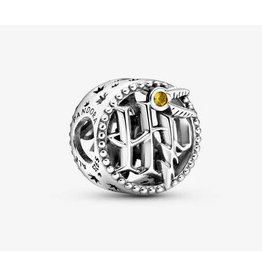 Pandora Jewelry Charm, Harry Potter, Openwork Harry Potter Icons, Honey Colored Crystal