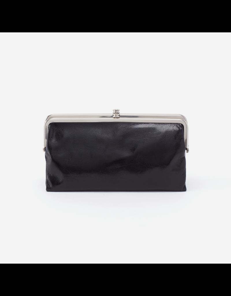 HOBO Lauren Clutch Wallet, Black