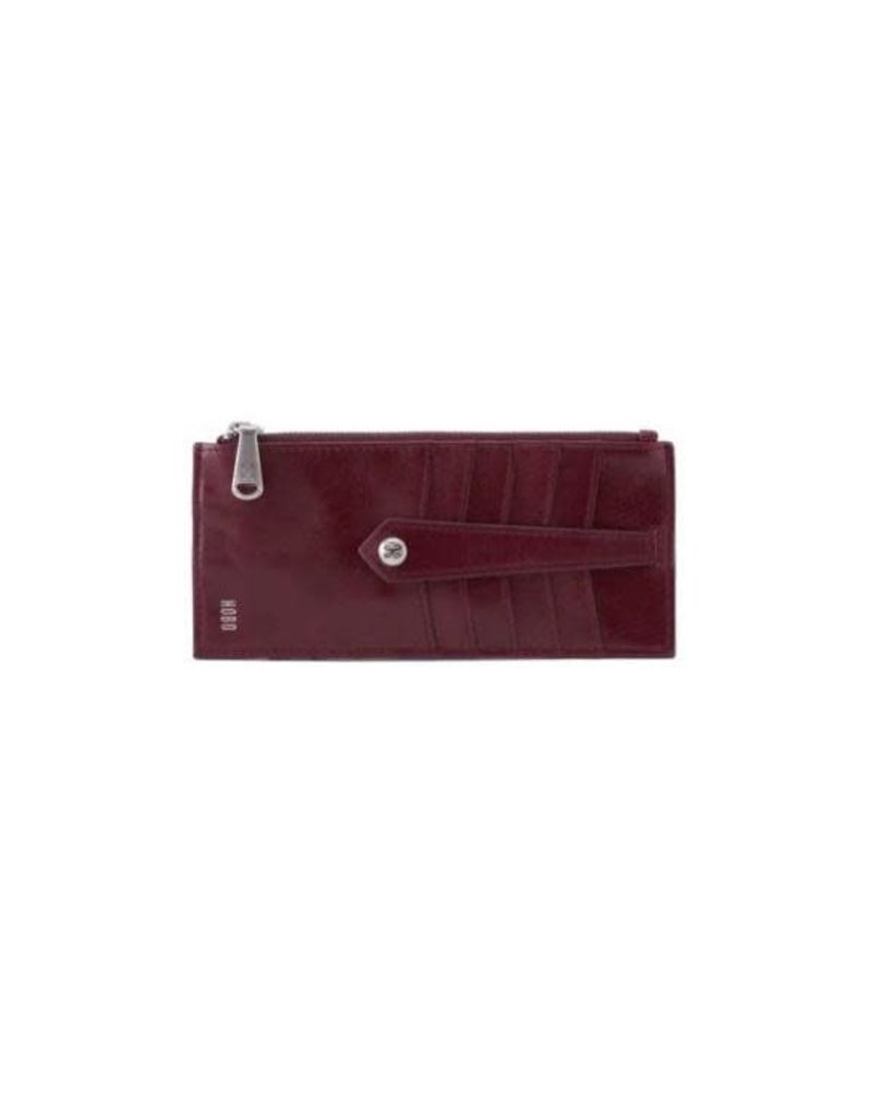 HOBO Linn Credit Card Holder Deep Plum