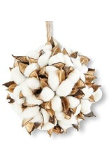 "K & K Interiors, Inc. 6"" Cotton Pod Ornament"