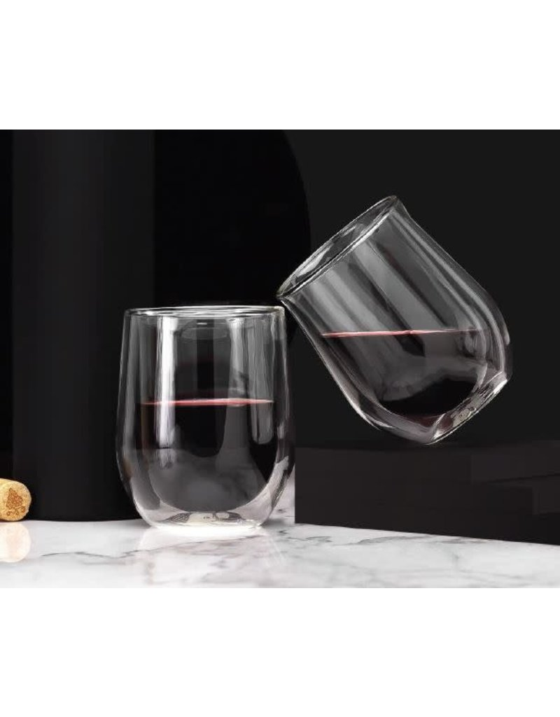 Corkcicle Glass Stemless Double Pack - Clear
