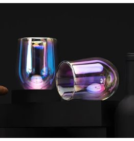 Corkcicle Glass Stemless Double Pack - Prism