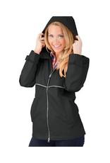 Charles River Apparel New Englander Rain Jacket Black