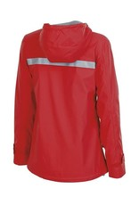Charles River Apparel New Englander Rain Jacket Red